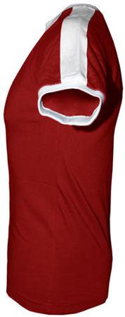 t-shirt Fit slim z własnym nadrukiem Czerwony