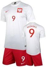 59900614760c Strój kibica Reprezentacji Polski Nike Poland Koszulka i spodenki -własny  numer i nazwisko-