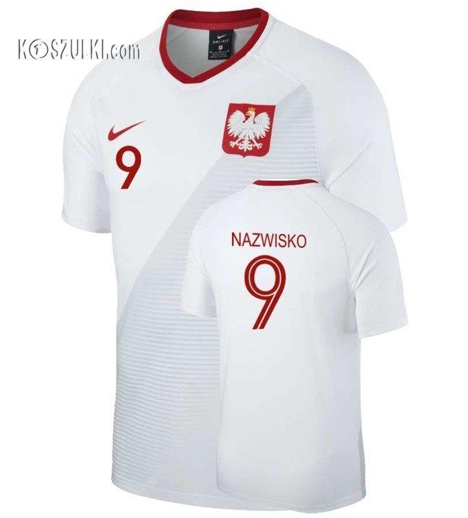 9bad32324 Kliknij, aby powiększyć · Oryginalna Koszulka Reprezentacji Polski Nike Mś  2018 Home Breathe ...