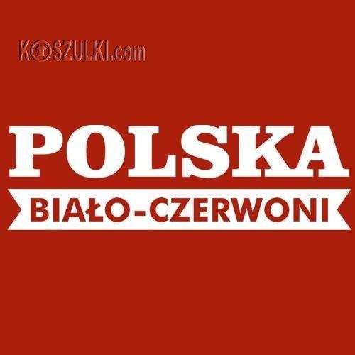 Bluza Polska damska z kapturem Kontrast Poland