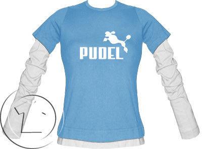 Bluza damska przedłużony rękaw Pudel