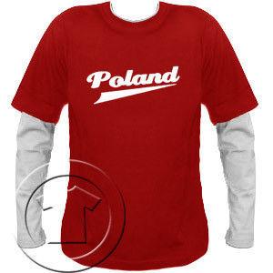 Bluza męska przedłużony rękaw Poland