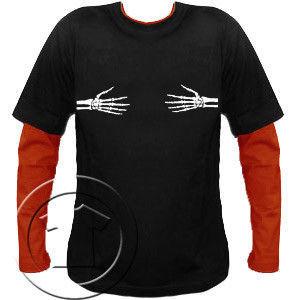 Bluza męska przedłużony rękaw Trupie Łapki