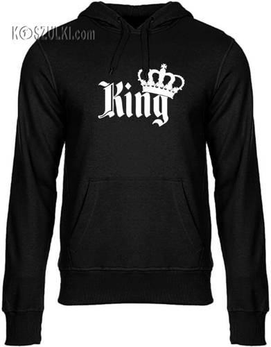 Bluza z kapturem King