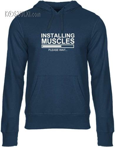 Bluza z kapturem Mięśnie