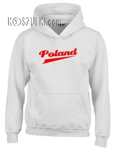 Bluza z kapturem dziecięca Poland