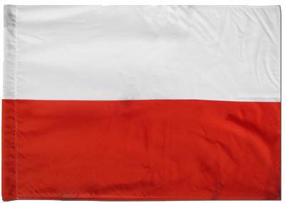 Flaga Polski 65x100cm