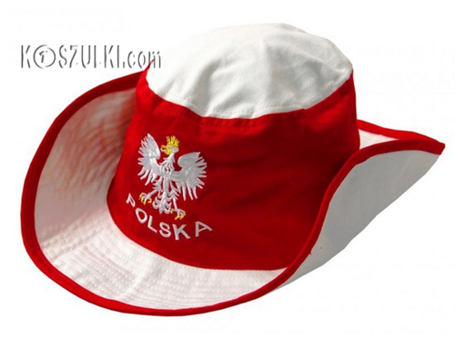Kapelusz kibica Polska
