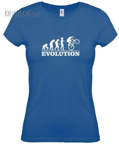 Koszulka damska Ewolucja rower