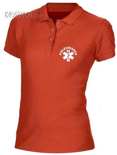Koszulka damska polo Pielęgniarka