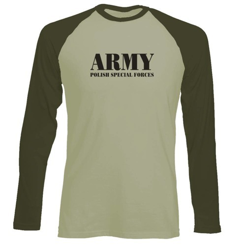 Longsleeve Męski - ARMY