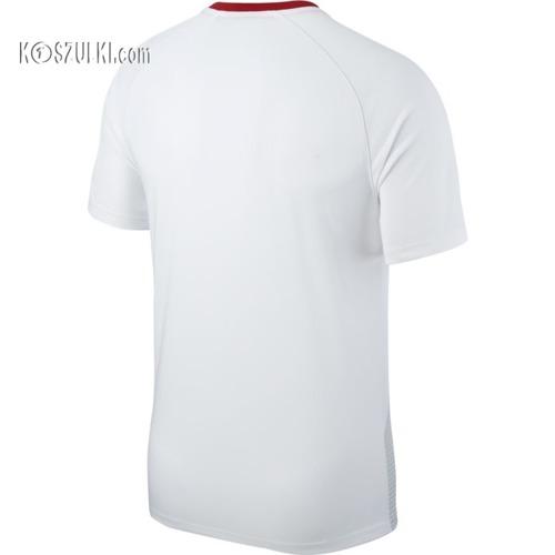 Oryginalna Koszulka Nike Reprezentacji Polski MŚ2018 Breathe Top 893891-100 Home biała