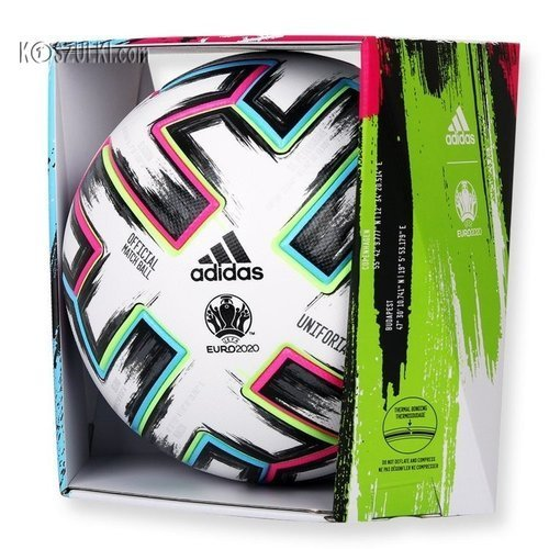 Piłka nożna Adidas EURO2020 meczowa Uniforia OMB FH7362 oryginalna