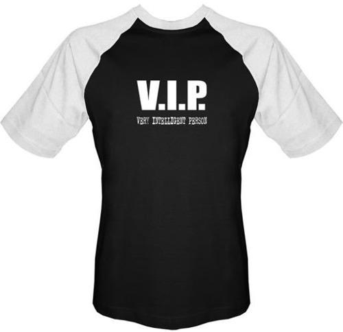 T-shirt Baseball V.I.P