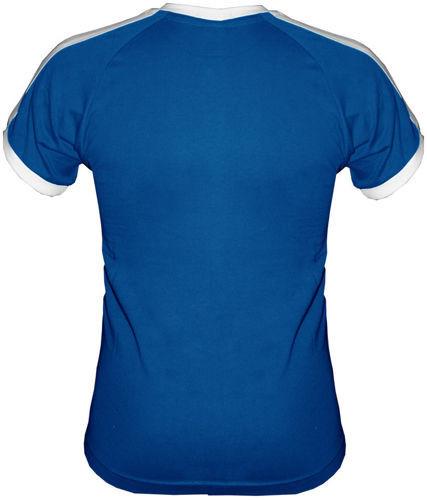 T-shirt Fit Ginekolog Amator Niebieski