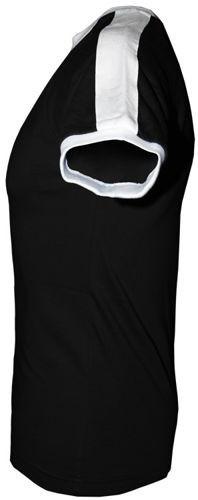 T-shirt Fit Ojciec Dyrektor Czarny