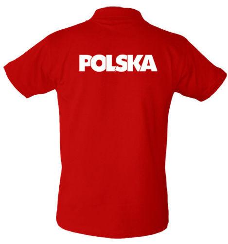 T-shirt Polo TP067 napis Polska