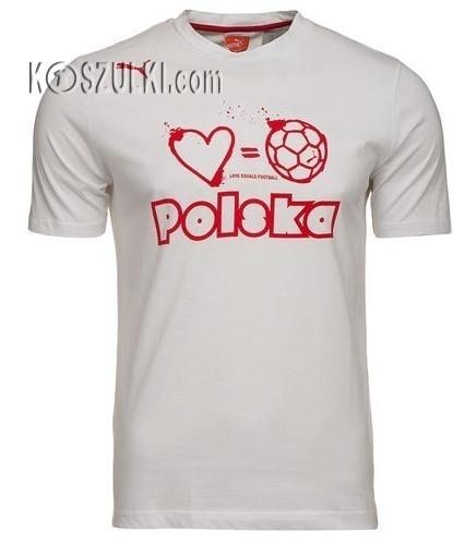 T-shirt Puma Polska Football biały