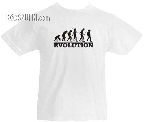 T-shirt dziecięcy Ewolucja ucznia