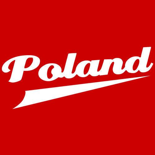 T-shirt dziecięcy Poland Czerwony