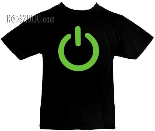 T-shirt dziecięcy- button