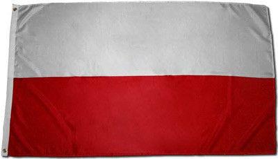 Flaga Polski na maszt biało czerwona 90x150cm
