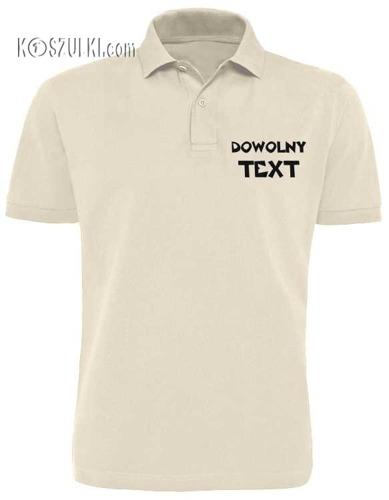 koszulka Polo z własnym nadrukiem męska