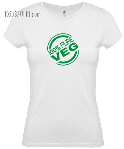 koszulka damska 100 procent Veg