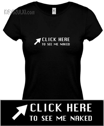 koszulka damska CLICK HERE...- CZARNA