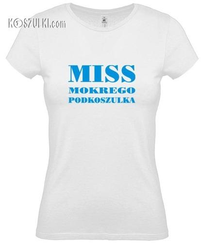 koszulka damska MISS