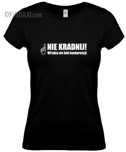 koszulka damska Nie Kradnij