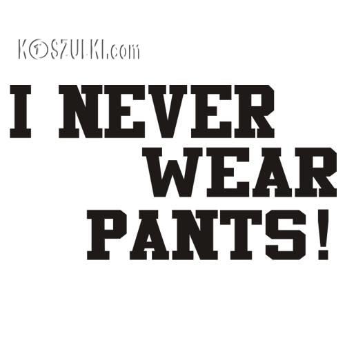 koszulka damska Pants