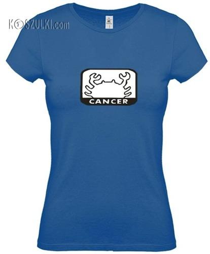 koszulka damska Rak znak zodiaku