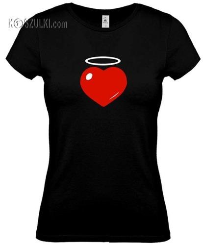 koszulka damska Serce Aureolka