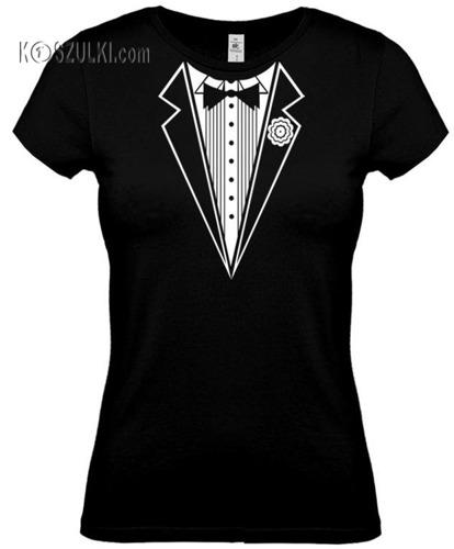 koszulka damska Smoking- CZARNA