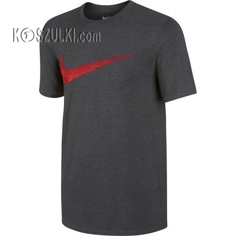 koszulka t-shirt Nike  Hangtag Swoosh szara