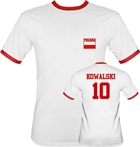 t-shirt 2K Siatkówka Polska 2012 Nazwisko biała