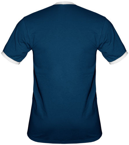 t-shirt 2K056 Polska napis Flaga Granatowy