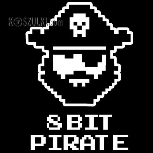t-shirt 8 BIT pirate