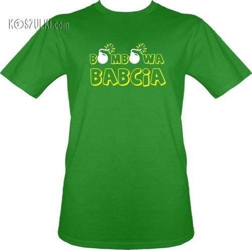 t-shirt Bombowa Babcia