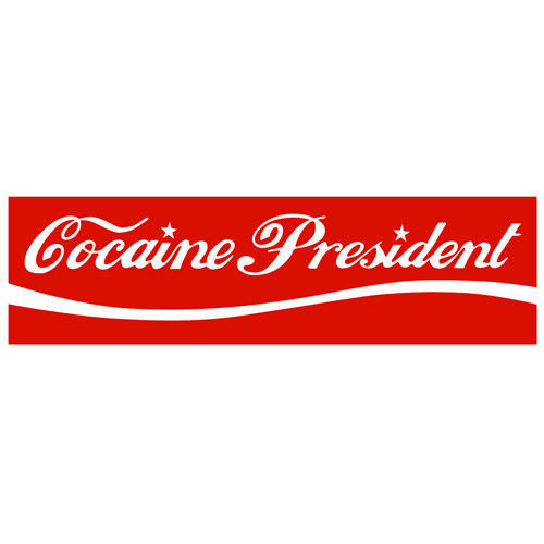 t-shirt Cocaine President