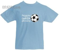 T-shirt dziecięcy-Gwiazda piłki nożnej