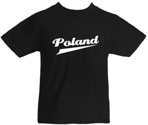 T-shirt dziecięcy- Poland