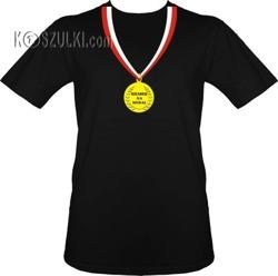 t-shirt Dziadek na Medal