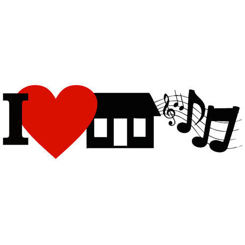 t-shirt I Love House Music