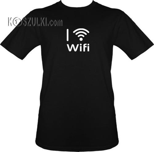 t-shirt I [serce] wifi