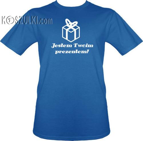 t-shirt Jestem Twoim Prezentem
