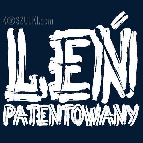 t-shirt Leń Patentowany