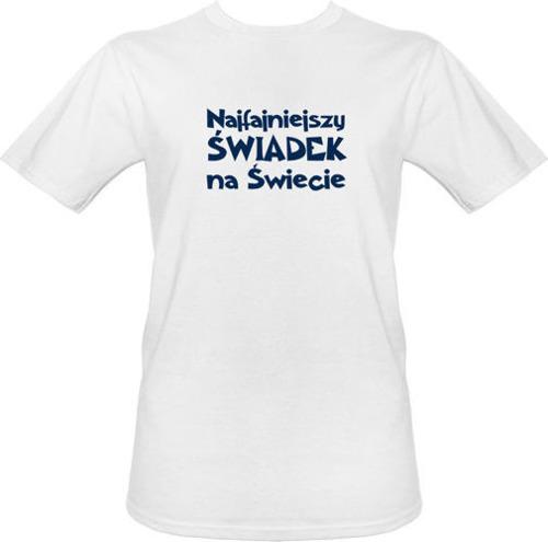 t-shirt Najfajniejszy Świadek na Świecie