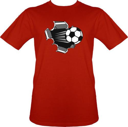 t-shirt Piłka Czerwona